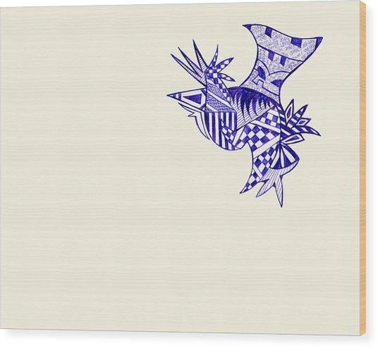Sore Wood Print by Leah Chyma