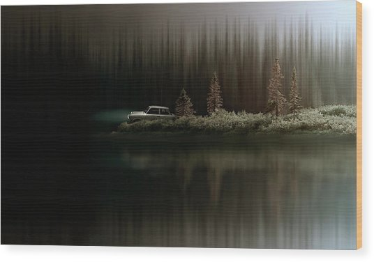 Sortie De Route 5 Wood Print