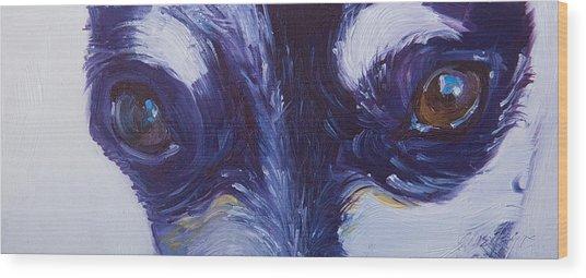Soul Of The Dog #4 Wood Print