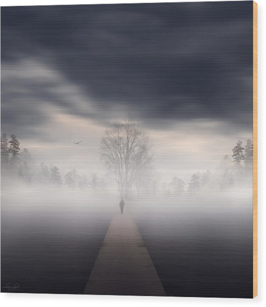 Soul's Journey Wood Print