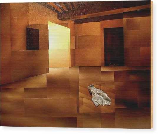 Sound Of Silence Wood Print by Laurend Doumba
