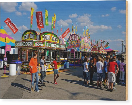 South Carolina State Fair Wood Print