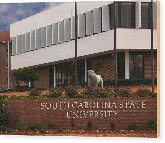 South Carolina State University 2 Wood Print