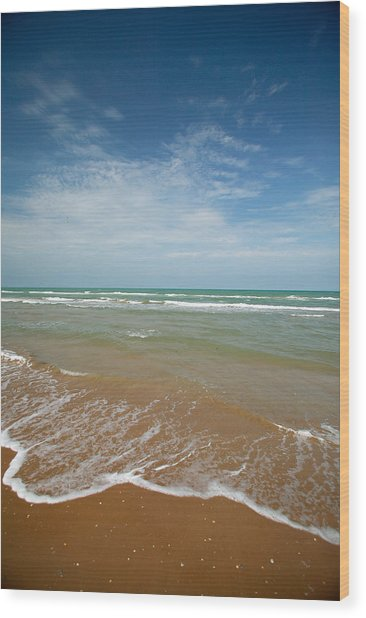 South Padre Island Wood Print