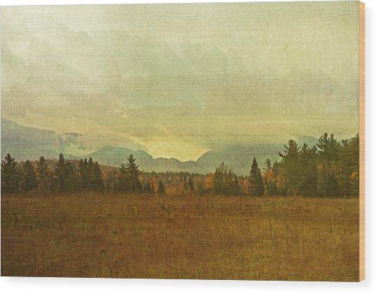 South To Franconia Notch Wood Print