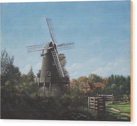 Southampton Bursledon Windmill Wood Print
