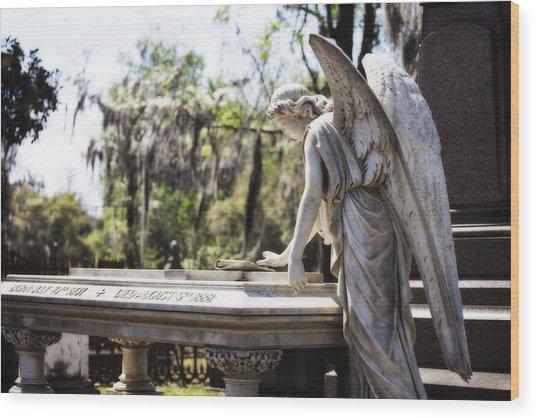 Southern Angel II Wood Print