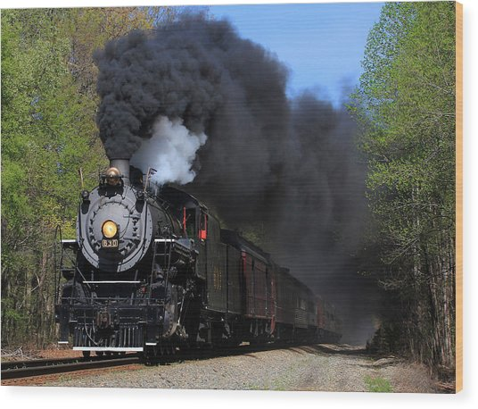 Southern Railway Steam Engine #630 Wood Print