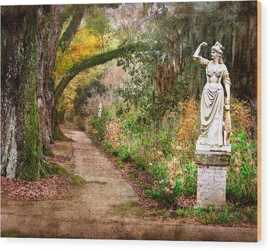 Southern Strength Wood Print