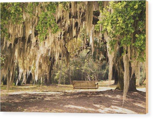 Southern Tree Wood Print