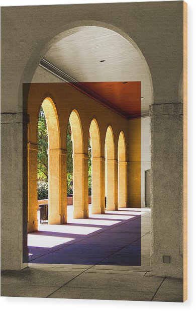 Spanish Arches Wood Print