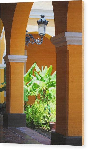 Spanish Court Wood Print