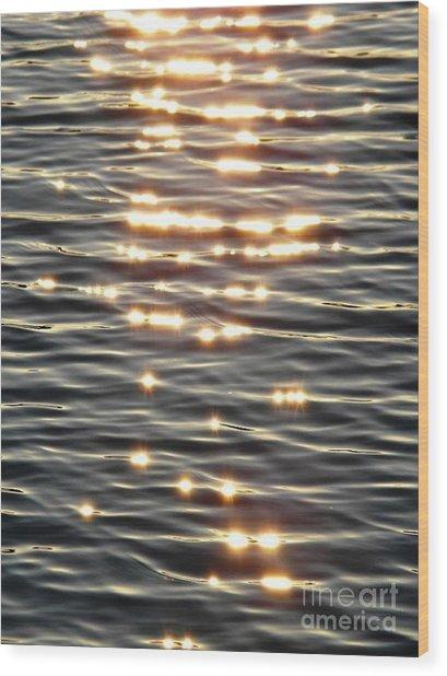 Sparkles Of Hope Wood Print