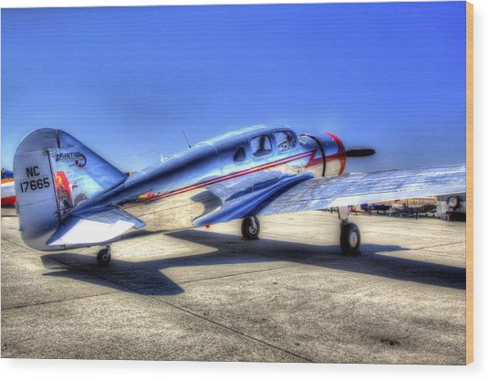 Sparten Executive At Hollister Airshow Wood Print