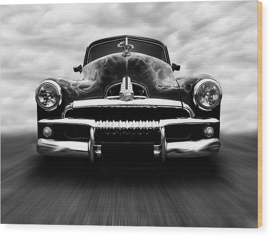 Speeding Fj Holden Wood Print