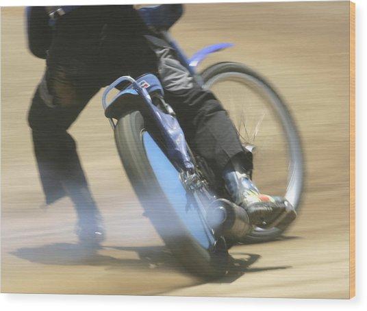 Speedway Slide Wood Print