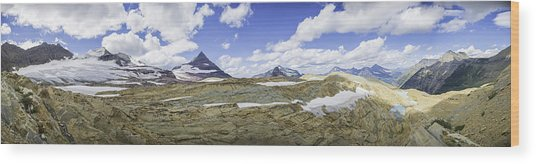 Sperry Glacier Basin Wood Print