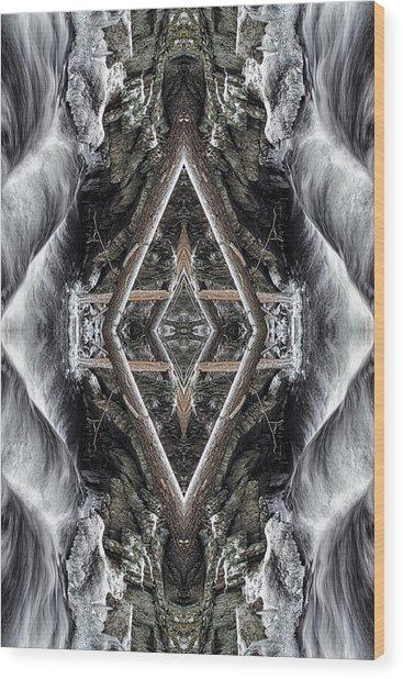 Spirit Gathering Wood Print