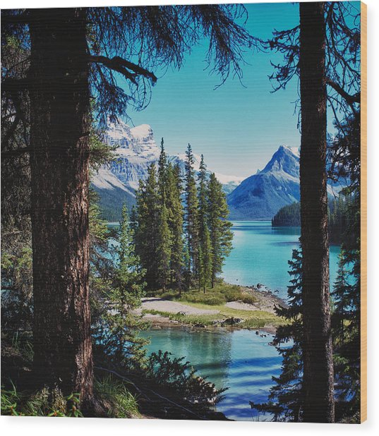Spirit Island Wood Print