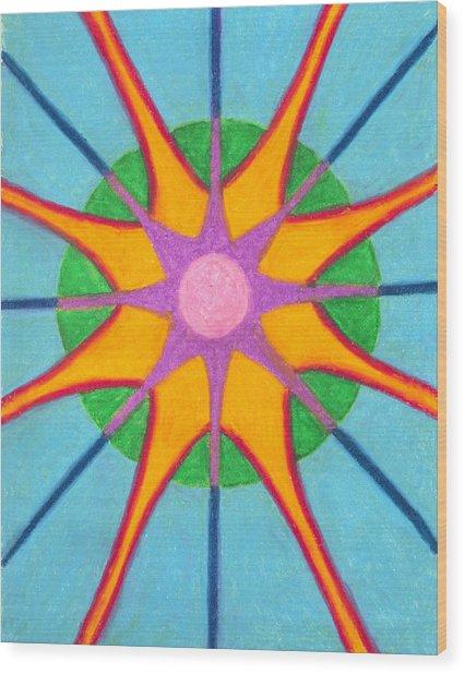 Spirit Mandala Wood Print
