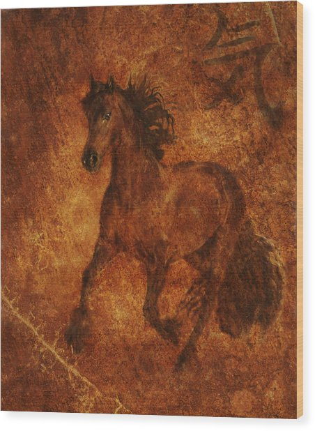 Spirit  Wood Print