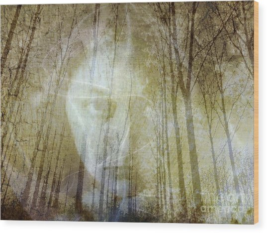 Spirit Of The Forest Wood Print