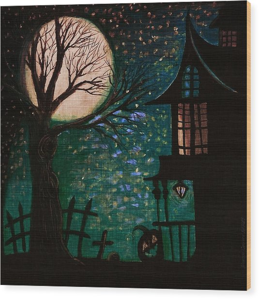 Spirit Of Wonder Wood Print by Denisse Del Mar Guevara