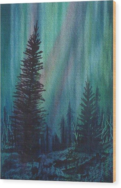 Spirits Rising Wood Print