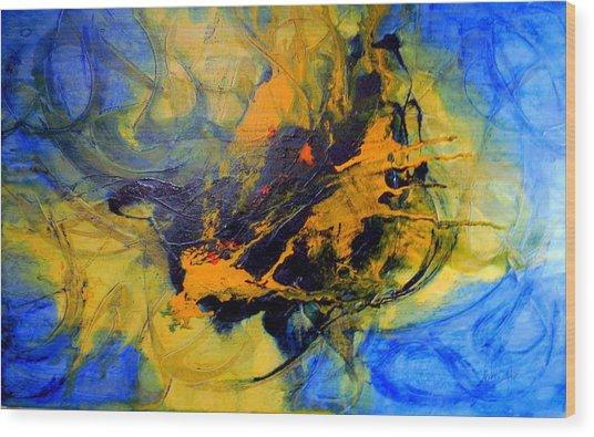 Spiritual Freedom Wood Print by Lalo Gutierrez