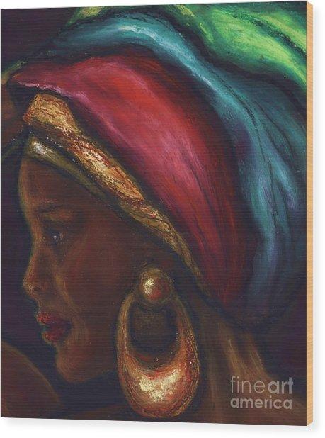 Spiritual Riches And Profound Feeling Wood Print