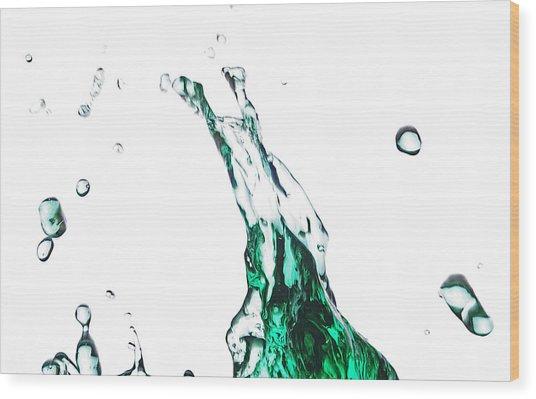 Splash 12 Wood Print