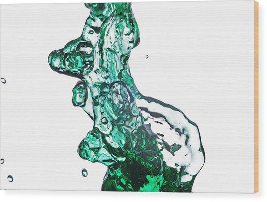 Splash 13 Wood Print