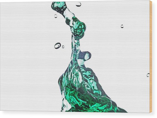 Splash 14 Wood Print