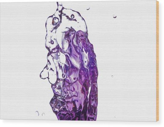 Splash 7 Wood Print