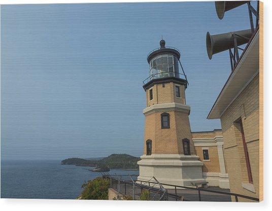 Split Rock Lighthouse 99 Wood Print
