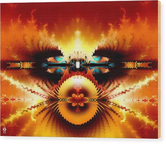 Starship Hades Nc 666 Wood Print