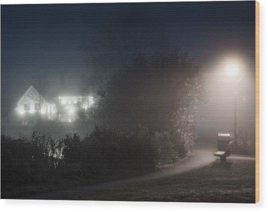 Spook Wood Print