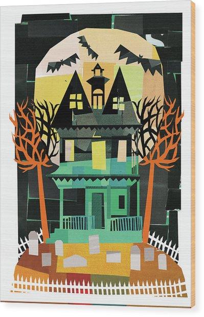 Spooks II Wood Print