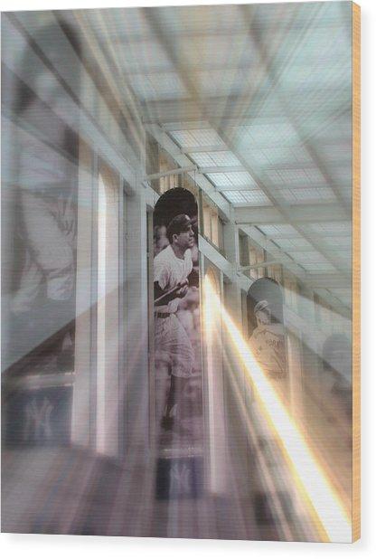 Spotlight On Yogi Wood Print