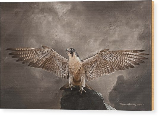 Spread Your Wings Wood Print