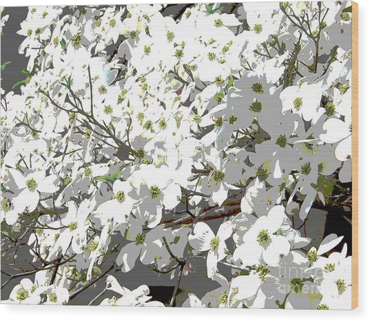 Spring 8 Wood Print by Shirley Sparks