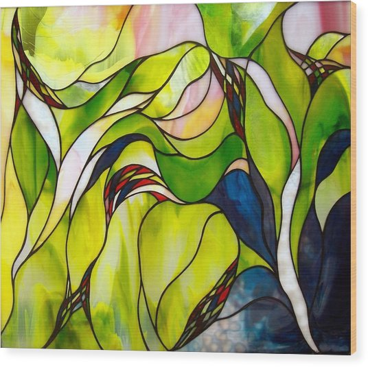 Spring Wood Print by Christine Alexander