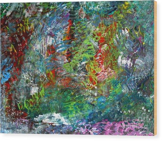 Spring Wood Print by Danya Hammoudi