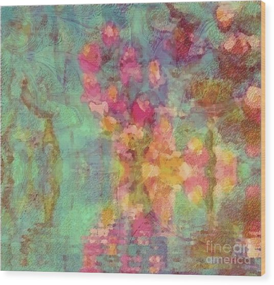Spring Dream Wood Print