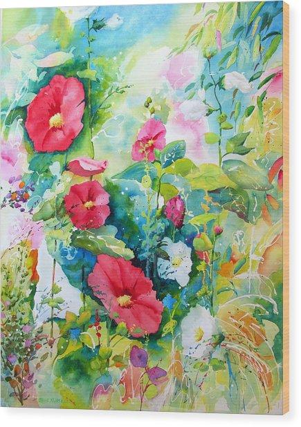 Spring Equinox Wood Print