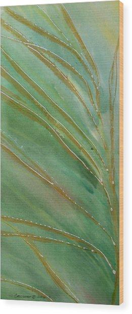 Spring Grasses Wood Print