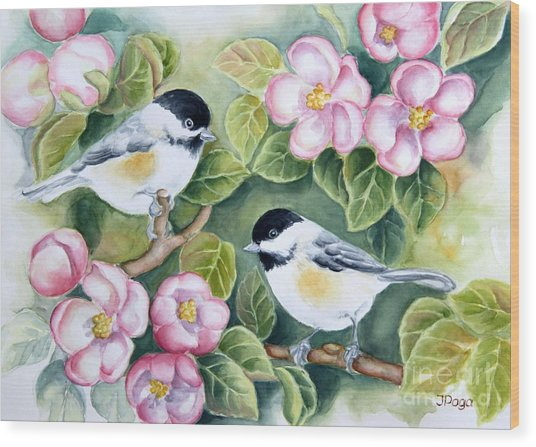 Spring Greetings Wood Print