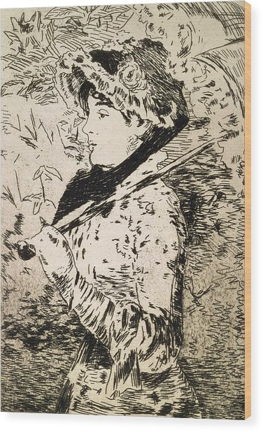 Spring   Jeanne Wood Print