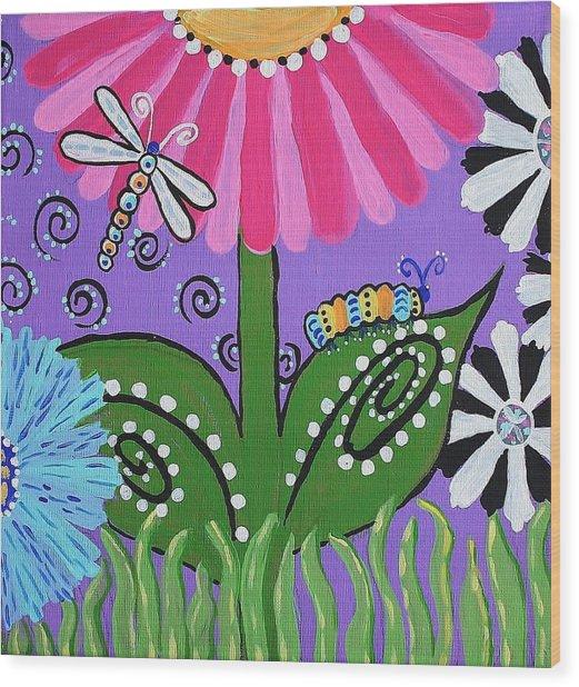 Spring Joy 1 Wood Print