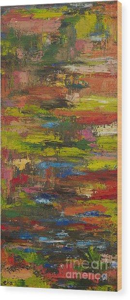 spring Water  Wood Print